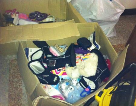 scatola scarpe