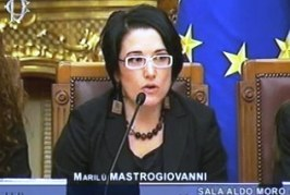 Premio Giustolisi a Marilù Mastrogiovanni