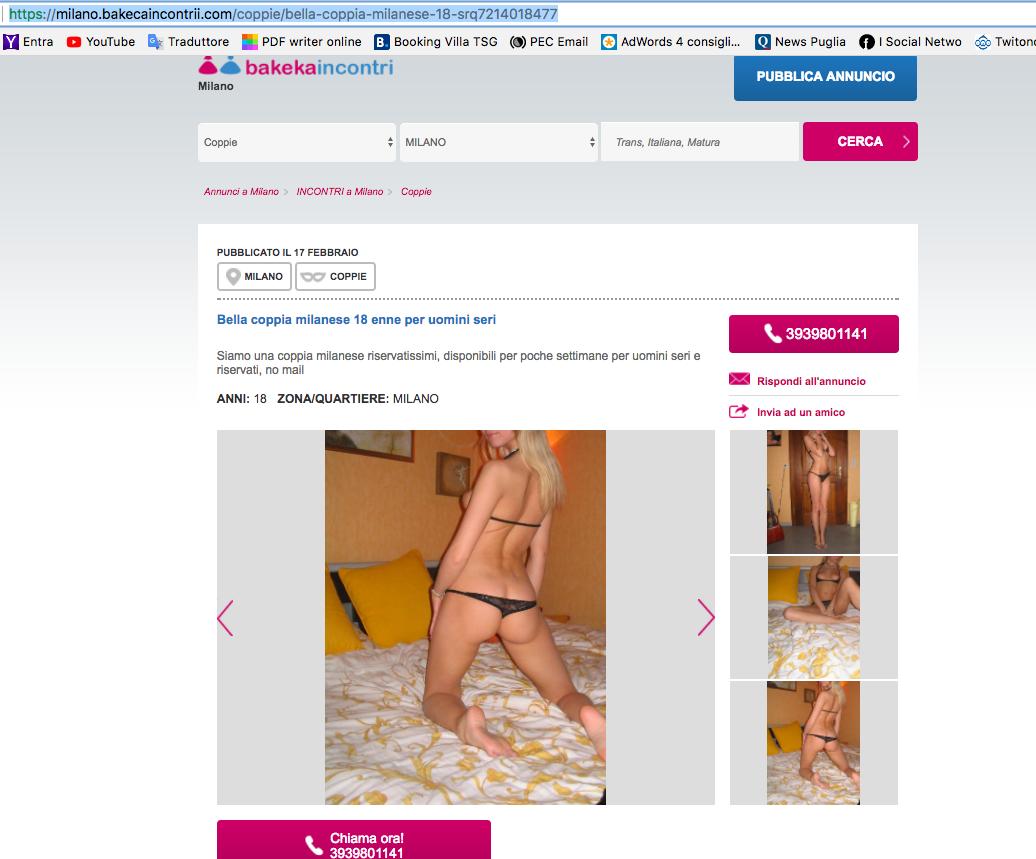 bakecaincontrii.com e lo stalking è servito