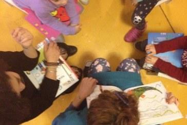 """Lecce, i bimbi colorano il carcere di """"giallo rosso e blu"""""""