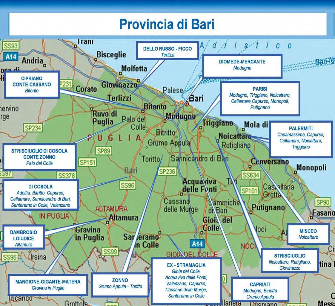 Puglia e basilicata mafia in simbiosi si prepara per for Arredamenti bari e provincia