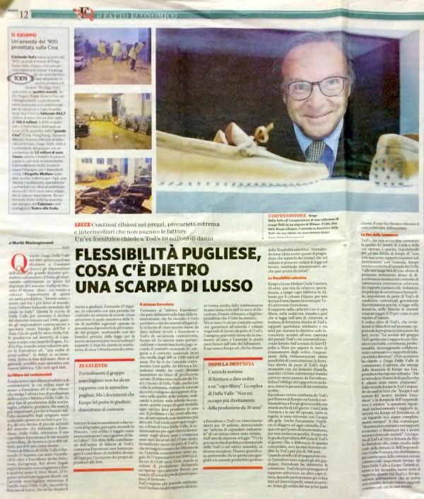 L'inchiesta del Fatto Quotidiano su Della Valle, poi censurata