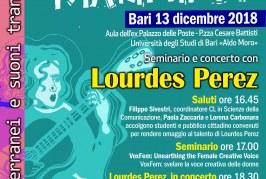 """""""Correnti marittime"""": a Bari la 2^ edizione con Lourdes Perez"""