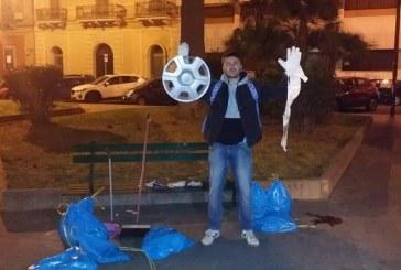 Daniele Follieri, il ragazzo che vuole pulire Taranto