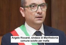 Manfredonia sciolto per mafia