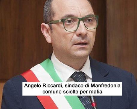 Angelo Riccardi, sindaco di manfredonia, comune sciolto per mafia