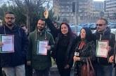 Sit-in per Maria Grazia Mazzola, la solidarietà de Il Tacco d'Italia