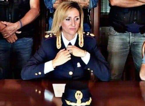 La Vicequestora di Brindisi Rita Sverdigliozzi