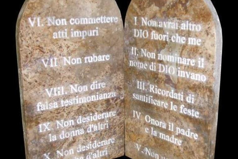 i dieci comandamenti