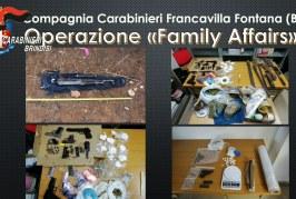 """Traffico di droga, due sodalizi a Francavilla Fontana: """"Spaccio anche dentro una scuola"""""""