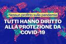 Nessun profitto sulla pandemia